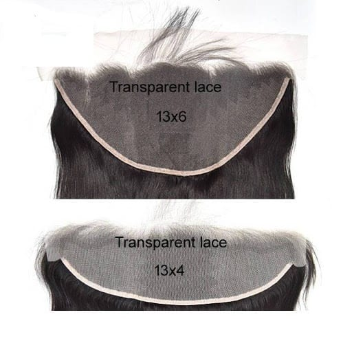Lace Frontal Size